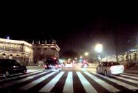 Paris by night at 125 mph – 200 km/h ! (Simulated…)